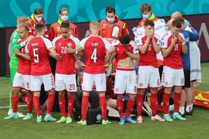 UEFA Danimarka - Finlandiya matçı ilə bağlı qərarını açıqladı