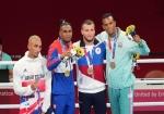 Tokio-2020: Azərbaycan boksçusu mükafatlandırıldı - FOTOLAR