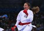 Tokio-2020: Qadın karateçimiz ilk məğlubiyyətini aldı