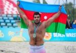 İranlı güləşçidə dopinq tapıldı, Oyan Nəzəriani medala layiq görüldü