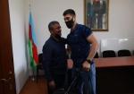 Azərbaycan millisinin üzvlərinə yeni idman geyimləri təqdim olunub