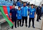 Azərbaycan güləşçilərindən DÇ-də qızıl və gümüş medal