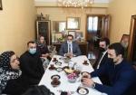 Şəhid idmançıların ailələrini çempionlar ziyarət etdi - FOTOLAR
