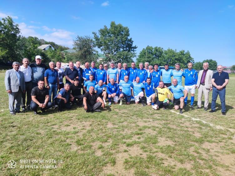Qusarda futbol bayramı - əsri yarılayan tanınmışları bir araya gətirdi - FOTOLAR