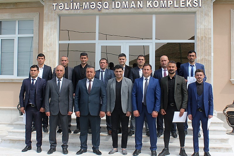 AFFA Naxçıvanda məşqçi kursuna yekun vurdu