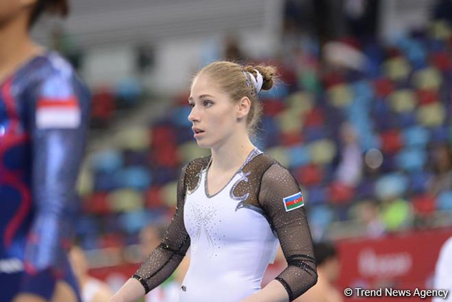 Tokio-2020: Daha bir idman gimnastımız çıxışını başa vurdu