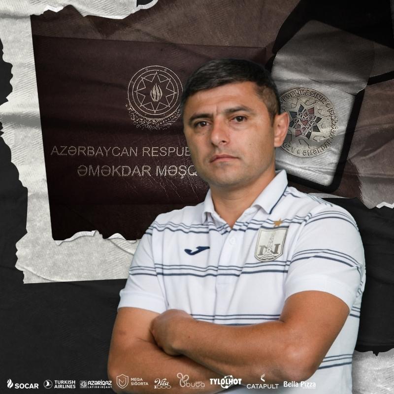 """""""Neftçi"""" məşqçisi Əməkdar Məşqçi adına layiq görüldü"""