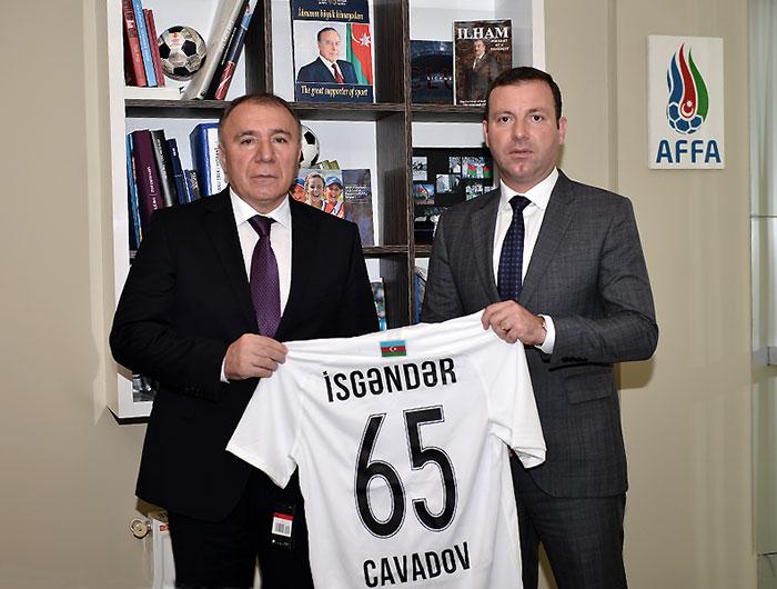 Yubilyar Cavadov de Byaziyə qiymət verdi, AFFA-nın 12 komanda istəyindən danışdı, sponsorlara səsləndi: